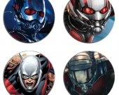 ANT-MAN Set Of 4 Wood Drink Coasters