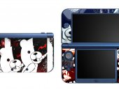 Monokuma NEW Nintendo 3DS XL LL Vinyl Skin Decal Sticker
