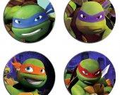 Teenage Mutant Ninja Turtle Set Of 4 Wood Drink Coasters