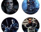 Terminator Set Of 4 Wood Drink Coasters