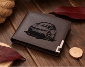 Honda Civic Type R Cartoon Car Leather Wallet