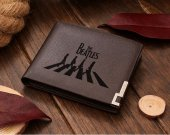 The Beatles   Leather Wallet
