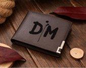 Depeche Mode DM Leather Wallet