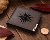 Dragon age Chantry Symbol Eye Leather Wallet