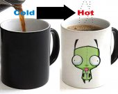 Invader Zim Color Changing Ceramic Coffee Mug CUP 11oz