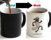 Shaun The Sheep Color Changing Ceramic Coffee Mug CUP 11oz