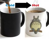 MY NEIGHBOR TOTORO Color Changing Ceramic Coffee Mug CUP 11oz