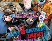 Hotel Transylvania 2 4x6 Personalized Birthday Party Invitations #2