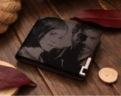The Last of Us Ellie & Joel Leather Wallet