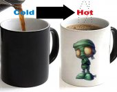 League of Legends LoL Amumu Color Changing Ceramic Coffee Mug CUP 11oz