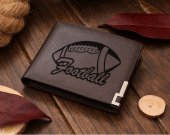 Football Leather Wallet