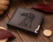 Star Wars Walker AT-AT Leather Wallet