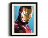Iron Man, Tony Stark digital art poster (11 x 17 inch, A3)