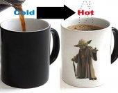 Star Wars Yoda Color Changing Ceramic Coffee Mug CUP 11oz