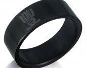 Jedi Mind Tricks  Black Stainless Steel Ring