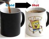 Spongebob Squarepants Color Changing Ceramic Coffee Mug CUP 11oz