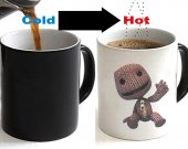 Little Big Planet Sack Boy Color Changing Ceramic Coffee Mug CUP 11oz