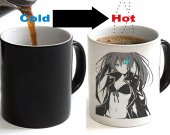 Black Rock Shooter Color Changing Ceramic Coffee Mug CUP 11oz