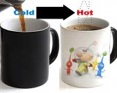 Pikmin Color Changing Ceramic Coffee Mug CUP 11oz
