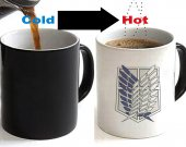 Attack On Titan Scouting Legion Color Changing Ceramic Coffee Mug CUP 11oz