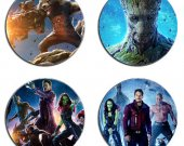 Guardians of the Galaxy Set Of 4 Wood Drink Coasters
