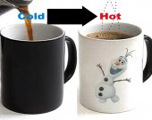 Frozen OLAF Color Changing Ceramic Coffee Mug CUP 11oz