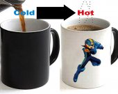 MEGAMAN EXE Color Changing Ceramic Coffee Mug CUP 11oz