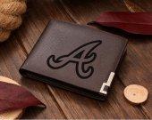 Atlanta Braves Leather Wallet