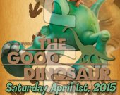The Good Dinosaur Ticket Style Personalized Party Invitations - Style 1