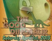 The Good Dinosaur Ticket Style Personalized Party Invitations - Style 2