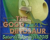 The Good Dinosaur Ticket Style Personalized Party Invitations - Style 4