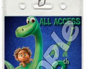 The Good Dinosaur Set of 12 VIP Party Invitation Passes or Party Favors - Style 3