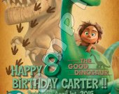 The Good Dinosaur Personalized Birthday Party Invitations #1