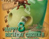 The Good Dinosaur Personalized Birthday Party Invitations #2