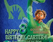 The Good Dinosaur Personalized Birthday Party Invitations #3
