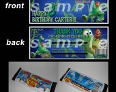 The Good Dinosaur  Set of 12 Personalized Candy Bar Wrappers Party Favors - Style 2