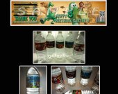 The Good Dinosaur  Set of 15 Water Bottle Labels - Make Great Party Favors - Style 1