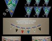 The Good Dinosaur  6 Triangle Pennants Banner #2
