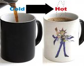 YU-GI-OH Color Changing Ceramic Coffee Mug CUP 11oz