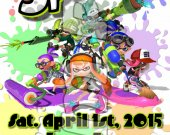 Splatoon Ticket Style Personalized Party Invitations - Style 1