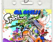 Splatoon Set of 12 VIP Party Invitation Passes or Party Favors - Style 1