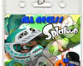 Splatoon Set of 12 VIP Party Invitation Passes or Party Favors - Style 3