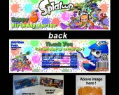 Splatoon Set of 12 Goodie Bag Toppers #1