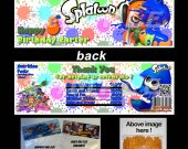 Splatoon Set of 12 Goodie Bag Toppers #2