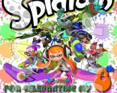 Splatoon Personalized Thank You Card #1