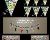 Splatoon 6 Triangle Pennants Banner #3