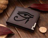 Eye of Horus Egyptian God Leather Wallet