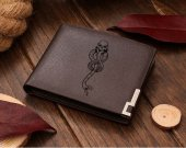 Dark Mark Leather Wallet