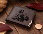 Jotaro Kujo Leather Wallet