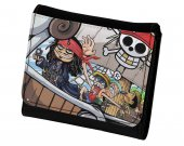 Pirates of the Caribbean One Piece Crossover PU Leather Wallet